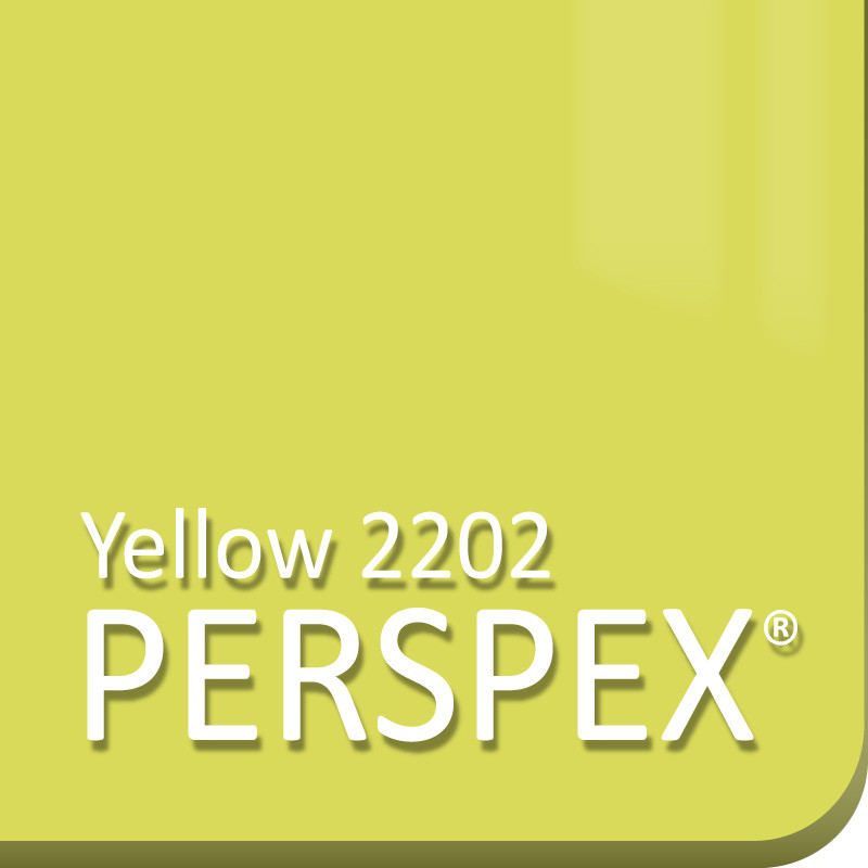Yellow 2202 Perspex