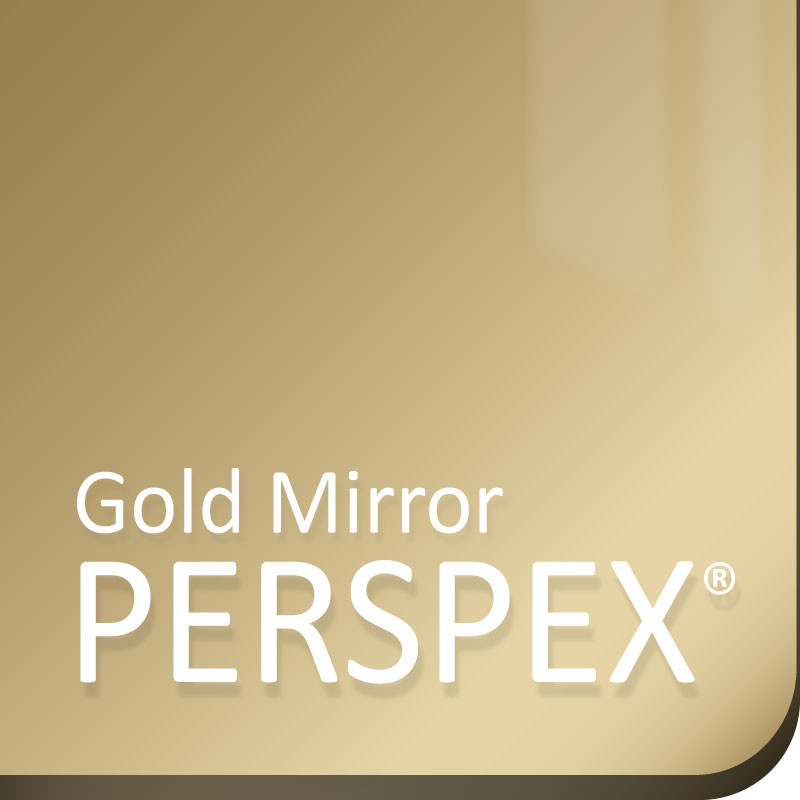 Acrylique Or Aspect Miroir