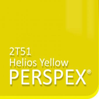 Perspex Jaune Hélios Fluorescent 2T51