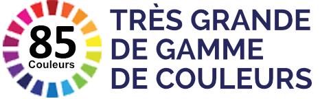TRÈS GRANDE DE GAMME DE COULEURS